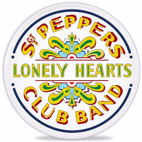 beatles merchandise store sgt pepper drum heads. Black Bedroom Furniture Sets. Home Design Ideas